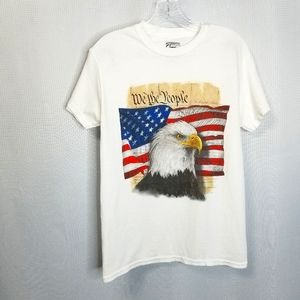 We The People American Eagle Graphic T-shi…